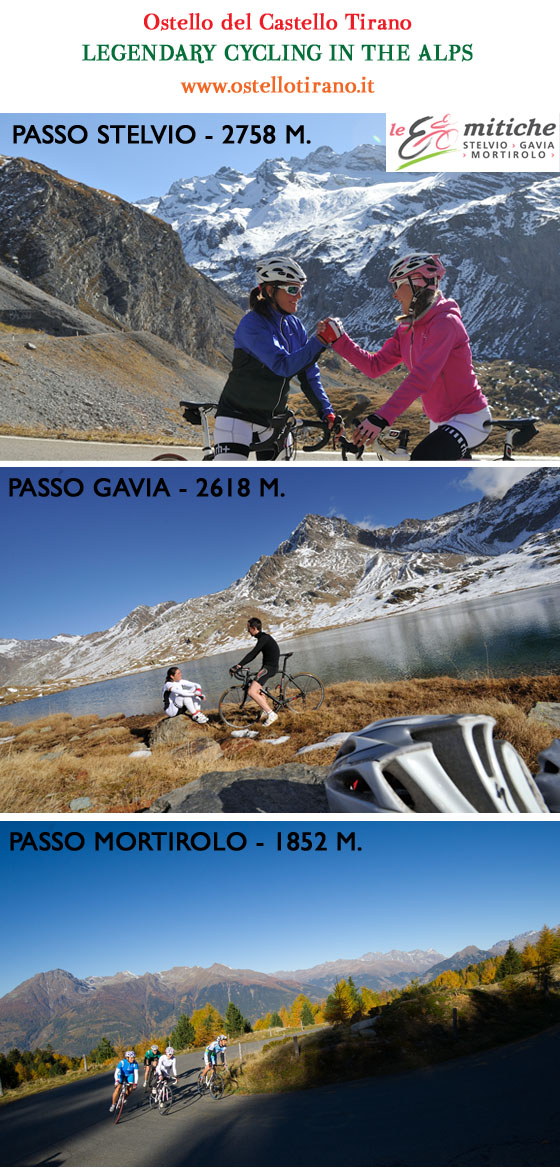 ostello tirano legendary cycling in the alps